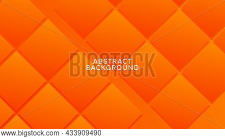Orange Abstract Geometric Background Of Gradient Smooth Background Texture On Elegant Rich Luxury Background Web Template Or Website Abstract Background Gradient Or Textured Background Orange Paper.