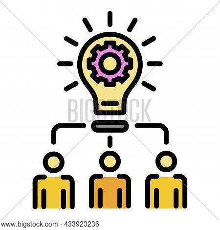 General Idea Icon. Outline General Idea Vector Icon Color Flat Isolated