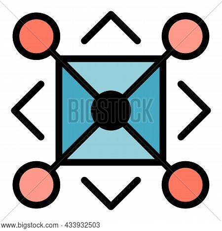 Aztec Alchemy Icon. Outline Aztec Alchemy Vector Icon Color Flat Isolated