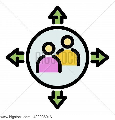 Professional Advice Icon. Outline Professional Advice Vector Icon Color Flat Isolated