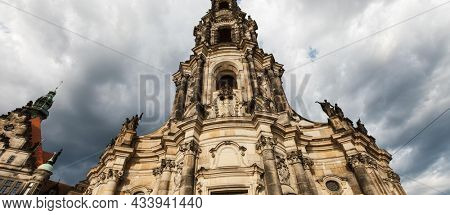 DRESDEN, GERMANY - June, 2016: Dresden - Cathedral, Germany