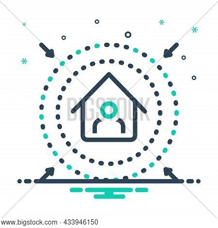 Mix Icon For Prevent Intercept Fend Inhibit Clog Avoid Preclude House Protect