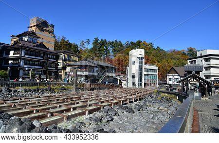Kusatsu Onsen In Gunma Prefecture, Japan