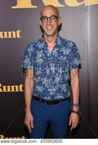 LOS ANGELES - SEP 01: Mitch Silpa arrives for the 'Runt' Los Angeles Premiere on September 22, 2021 in Hollywood, CA