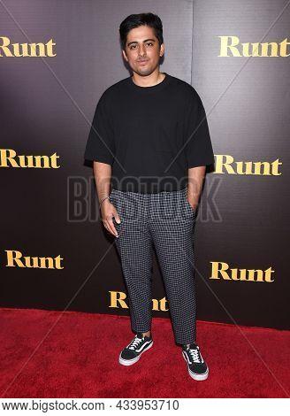 LOS ANGELES - SEP 01: Karan Brar arrives for the 'Runt' Los Angeles Premiere on September 22, 2021 in Hollywood, CA