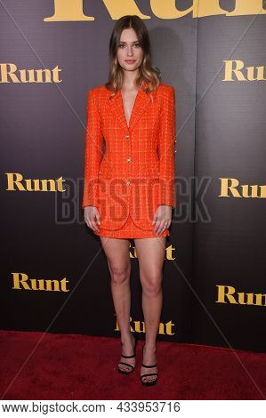 LOS ANGELES - SEP 01: Gabrielle Haugh arrives for the 'Runt' Los Angeles Premiere on September 22, 2021 in Hollywood, CA