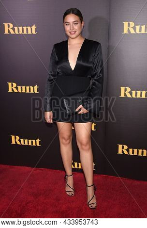 LOS ANGELES - SEP 01: Paulina Char arrives for the 'Runt' Los Angeles Premiere on September 22, 2021 in Hollywood, CA