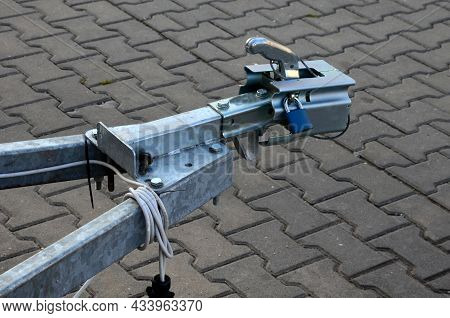 A Trailer Or Caravan, If Parked In A Car Park, Must Be Locked With A Special Lock On The Attachment.
