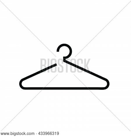 Clothes Hanger Icon Isolated On White Background From Plastic Products Collection. Clothes Hanger Ic