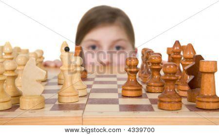 Girl Ang Chess