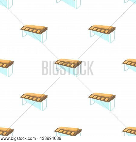 Synthesizer Pattern Seamless Background Texture Repeat Wallpaper Geometric Vector