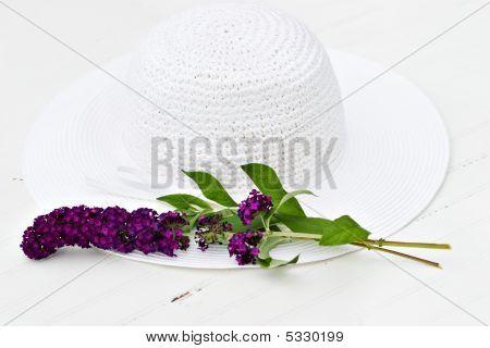 Sunhat And Flower