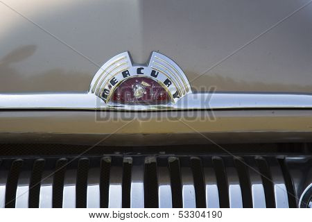 1951 Mercury Coupe Grill Close Up