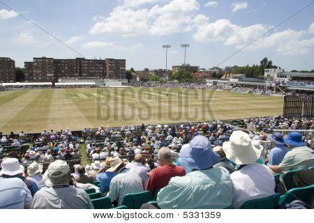 Big Crowd At Sussex V Australia