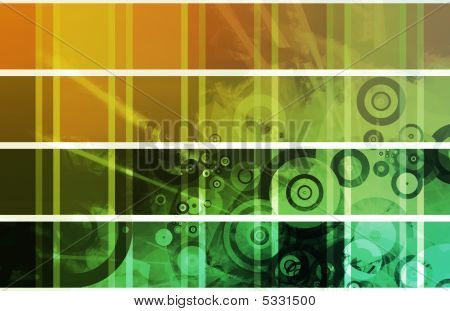 Creative and Artistic Design Horizontal Object Templates poster