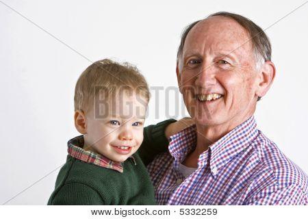 Grandad With Grandson