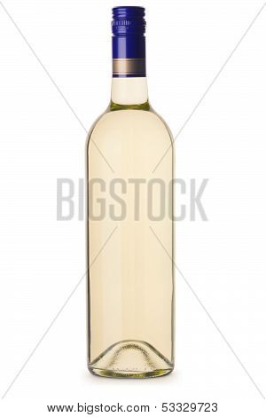 Generic White Wine Bottle Without Lable
