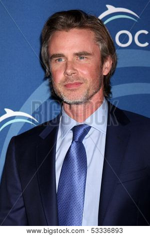 LOS ANGELES - OCT 30:  Sam Trammell at the Oceana's Partners Awards Gala 2013 at Beverly Wilshire Hotel on October 30, 2013 in Beverly Hills, CA