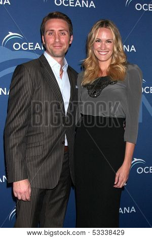 LOS ANGELES - OCT 30:  Philippe Cousteau Jr, Ashlan Gorse at the Oceana's Partners Awards Gala 2013 at Beverly Wilshire Hotel on October 30, 2013 in Beverly Hills, CA