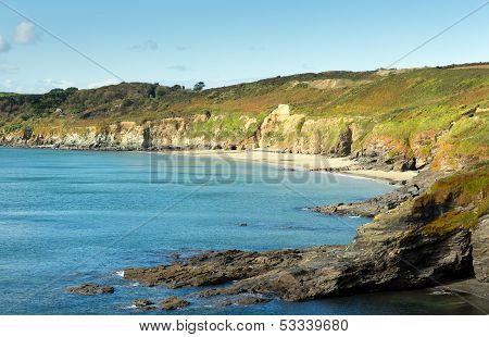 Kennegy Sand Cornwall England UK
