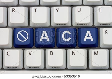 Affordable Care Act Not Information Online