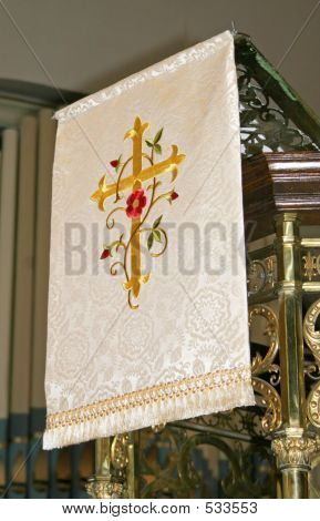 Embroidered Church Cloth