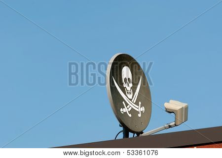 Pirated Cable Signal Concept