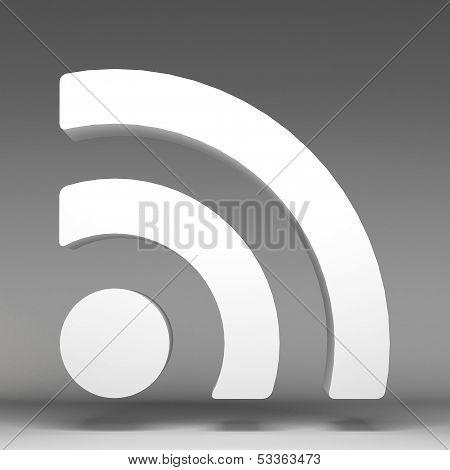 3D Wireless Network Icon