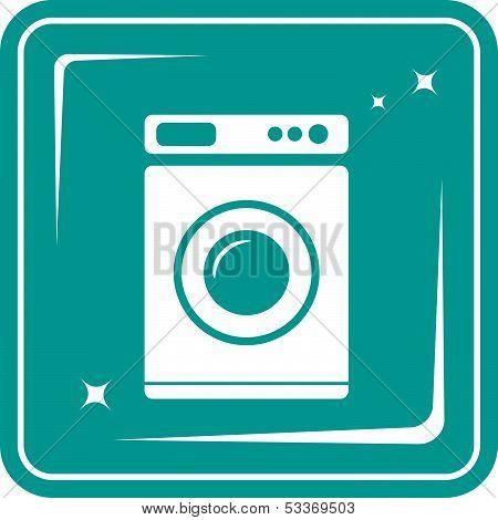 washing machine symbol