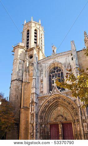 Cathedral Of Saint Savior (1513). Aix-en-provence, France