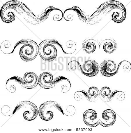 Swirls elements