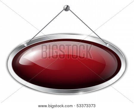 Metallic Oval Tablet