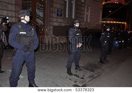 Gendarmerie and special unit police