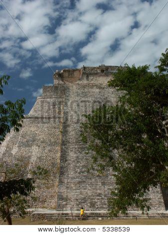 Mayatemple In Uxmal - Mexico