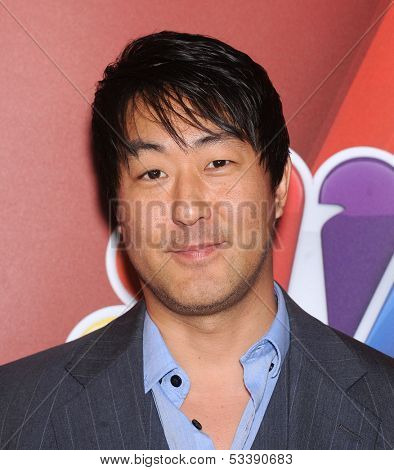 LOS ANGELES - AUG 27:  Kenneth Choi arrives to NBC All Star Summer TCA Party 2013  on July 27, 2013 in Beverly Hills, CA