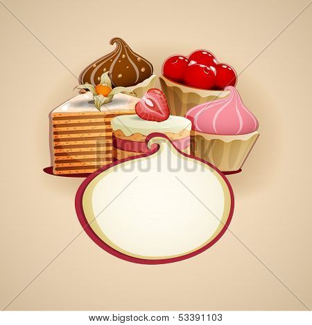 Delicious Cakes Background