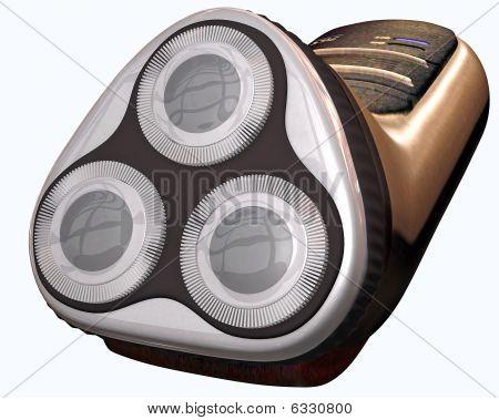 Electric shaver 3d render