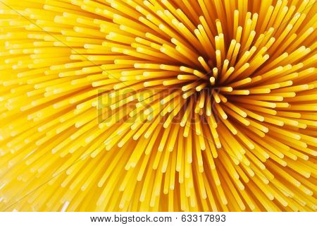 Background of pasta closeup