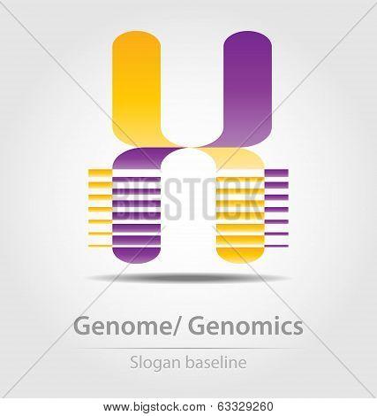 Genome Analysis,genomics Business Icon