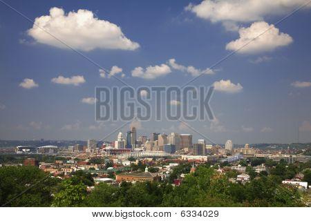 Cincinnati skylin