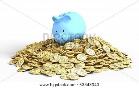 Piggy-bank Pile