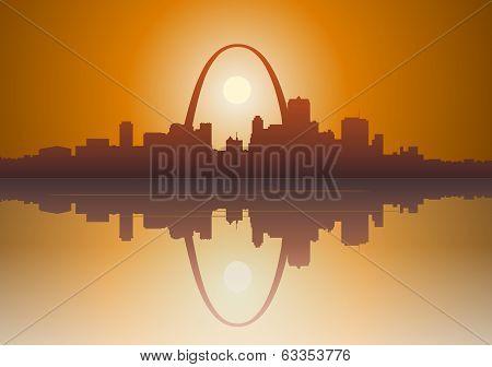 St Louis City Sunset