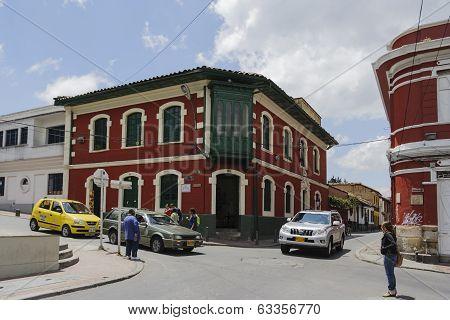Street Of Bogota, Colombia