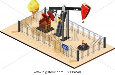 Oil Pump Isometric