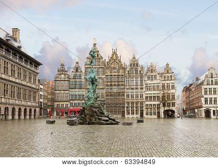 Grote Markt square, Antwerpen