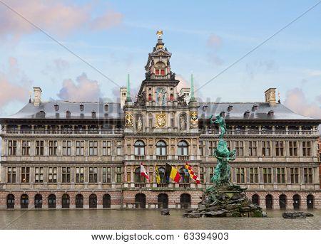 Stadhuis (city hall), Antwerpen