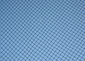 netting behind home base to stop foul balls poster
