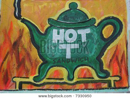 Teapot painting