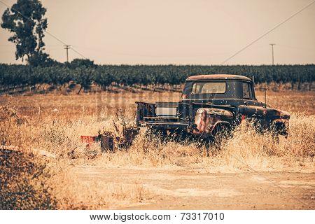Junk Aged Pickup
