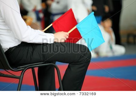Judge at competitions